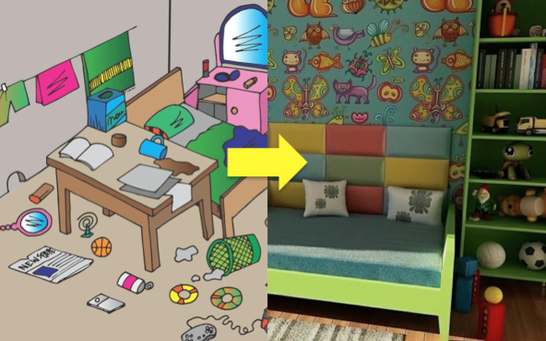 Kiedy dziecko nie chce sprzątać swojego pokoju…