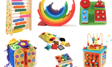 Zabawki Montessori: materiał dydaktyczny