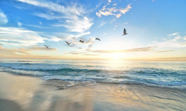 """""""The day at the beach"""" Arthura Gordona – kiedy życie nas przytłacza…"""
